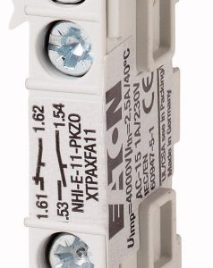 Contacto Auxiliar NHI-E-11-PKZ0